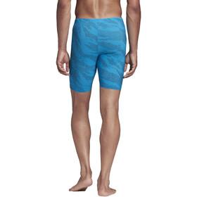 adidas P.Blue Strój startowy Mężczyźni, sharp blue/white